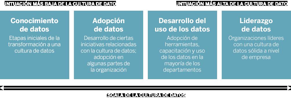 Escala de la cultura de datos