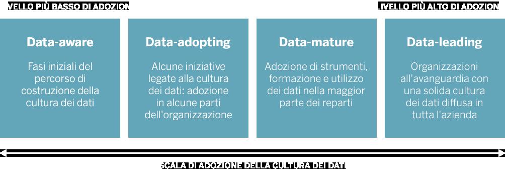 Scala di adozione della cultura dei dati