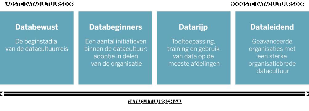 Schaal van datacultuur