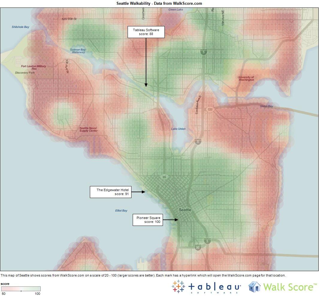 Seattle Walkability