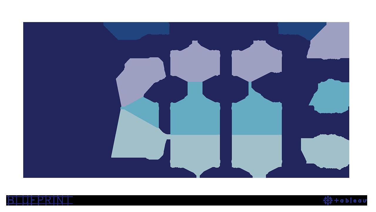 Tableau Blueprint subway map diagram